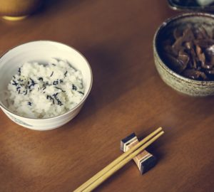 Asian japanese food culture on table